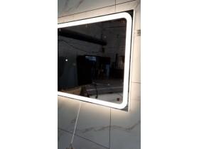 Выполненная работа: зеркало для ванной комнаты с подсветкой Равенна (г. Омск)