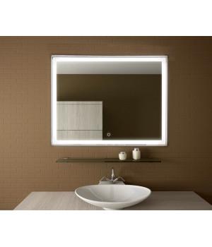 Зеркало в ванную комнату с подсветкой светодиодной лентой Люмиро 150х70 см (1500х700 мм)